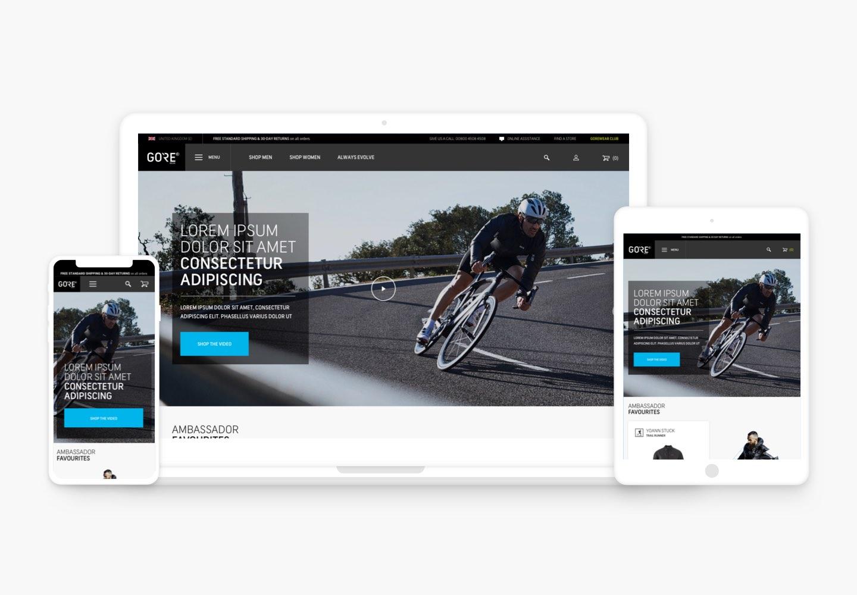 Gorewear Homepage