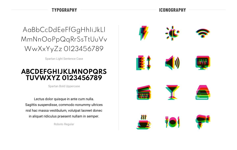 IRIS-Typography-Iconography